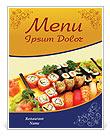 Sushi Menu en maaltijd kaarten