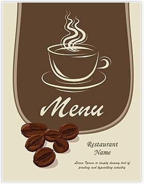 Coffee Grunge Menu Template & Design ID 0000002033 ...