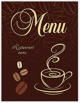 cup of coffee menu template design id 0000002034 smiletemplates com