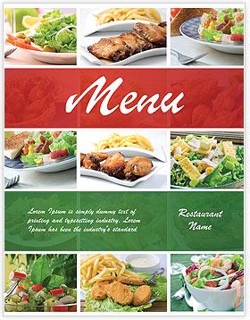 Más Populares Plantillas Del Menú Del Restaurante Y Diseños