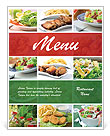Many Dishes Menu Template