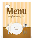 Dinner Set Menu Template