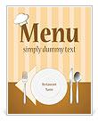 Eetservies Menu en maaltijd kaarten
