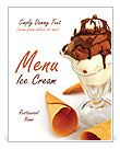 Ice Cream Menu Templates