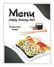 寿司 菜单和午饭表