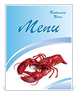 Boiled Crawfish Menu Templates