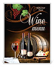 Wine Drink Menu Templates