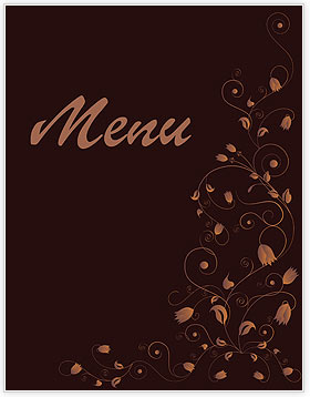Old Restaurant Menu Templates