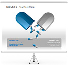 Tablets PPT Diagrams & Chart