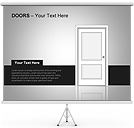 Doors PPT Diagrams & Chart