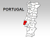 Portugal Maps for PowerPoint
