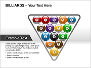 Billiards PPT Diagrams & Charts