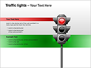 Traffic Lights PPT Diagrams & Chart