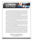 Business People Letterhead Template