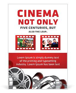 Movie Time Plantillas de anuncio