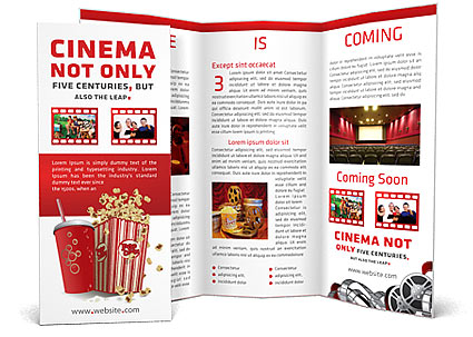 movie time brochure template