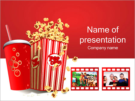 Movie Time Powerpoint Template Backgrounds Google Slides Id