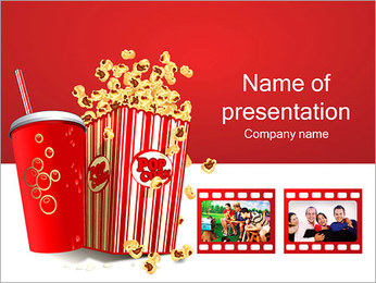 Movie Time PowerPoint Template