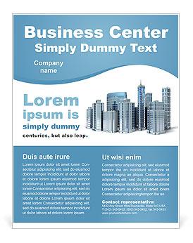 Business center flyer template design id 0000002080 business center flyer template wajeb Gallery