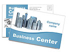 Business Center Postcard Template
