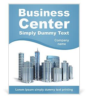 Centro de negocios Poster