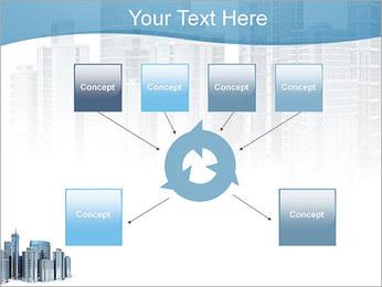 Centro de Negócios Modelos de apresentações PowerPoint - Slide 10