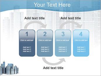 Centro de Negócios Modelos de apresentações PowerPoint - Slide 11