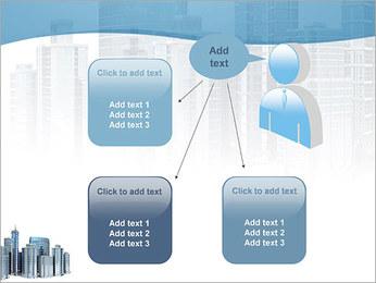 Centro de Negócios Modelos de apresentações PowerPoint - Slide 12