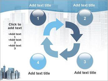 Centro de Negócios Modelos de apresentações PowerPoint - Slide 14