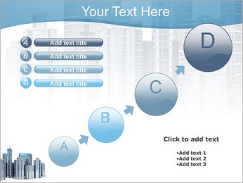 Centro de Negócios Modelos de apresentações PowerPoint - Slide 15