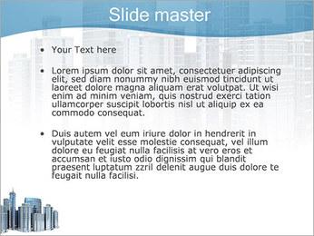 Centro de Negócios Modelos de apresentações PowerPoint - Slide 2