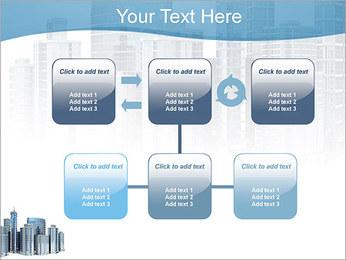 Centro de Negócios Modelos de apresentações PowerPoint - Slide 23