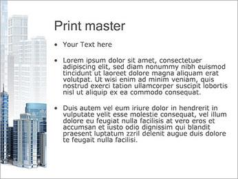 Centro de Negócios Modelos de apresentações PowerPoint - Slide 24