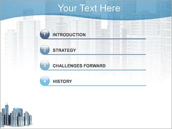 Centro de Negócios Modelos de apresentações PowerPoint - Slide 3