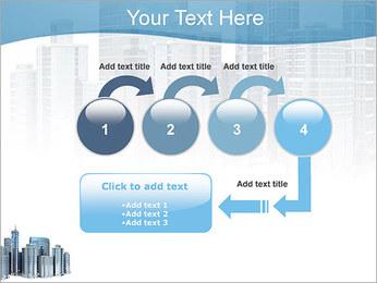 Centro de Negócios Modelos de apresentações PowerPoint - Slide 4