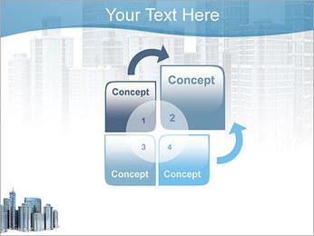 Centro de Negócios Modelos de apresentações PowerPoint - Slide 5