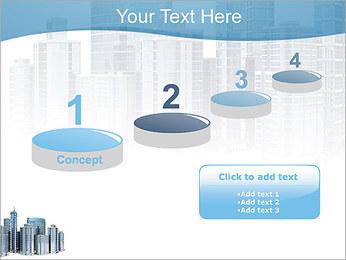 Centro de Negócios Modelos de apresentações PowerPoint - Slide 7