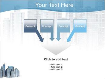 Centro de Negócios Modelos de apresentações PowerPoint - Slide 8