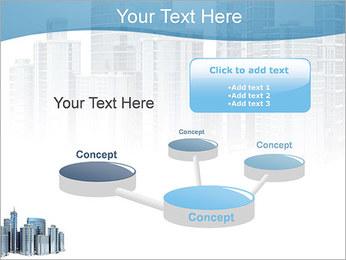 Centro de Negócios Modelos de apresentações PowerPoint - Slide 9