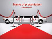Limo and Red Carpet PowerPoint Templates