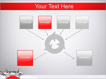 Limo et tapis rouge Modèles des présentations  PowerPoint - Diapositives 10