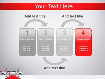 Limo et tapis rouge Modèles des présentations  PowerPoint - Diapositives 11