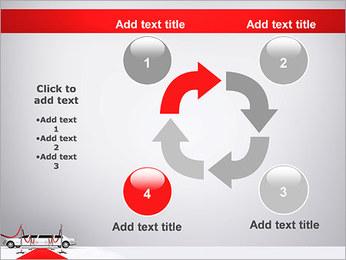 Limo et tapis rouge Modèles des présentations  PowerPoint - Diapositives 14