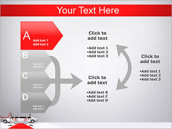 Limo et tapis rouge Modèles des présentations  PowerPoint - Diapositives 16
