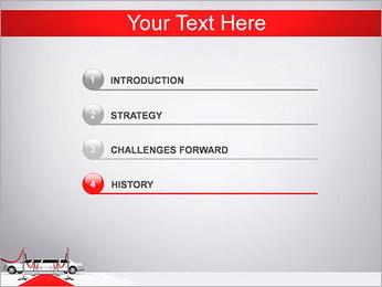 Limo et tapis rouge Modèles des présentations  PowerPoint - Diapositives 3