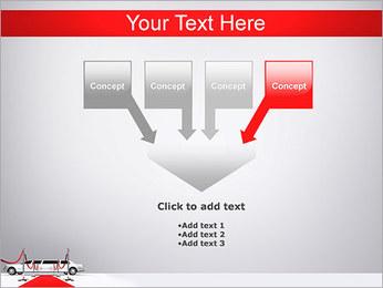 Limo et tapis rouge Modèles des présentations  PowerPoint - Diapositives 8