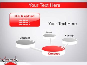 Limo et tapis rouge Modèles des présentations  PowerPoint - Diapositives 9