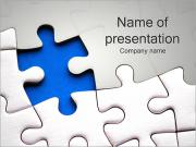 Jigsaw Puzzle Abstract PowerPoint Templates