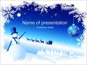 Boże Narodzenie w tle Szablony prezentacji PowerPoint