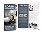 Businessman Having an Idea Brochure Template